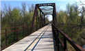 Bridge on Osage Prairie Trail